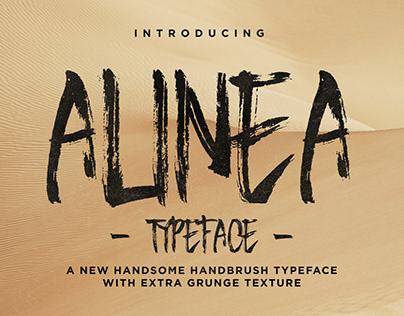 ALINEA - FREE BRUSH TYPEFACE