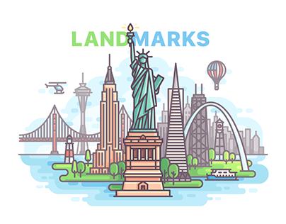 332 Landmarks