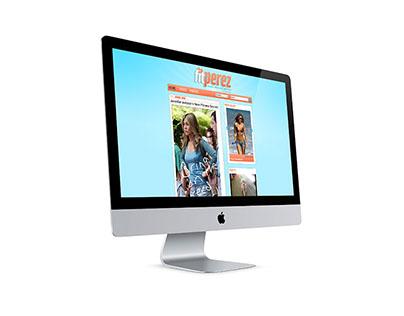 fitPerez - webdesign