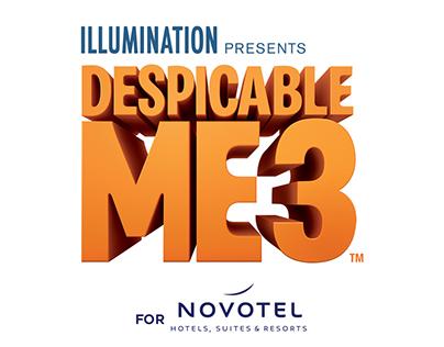 Despicable Me X Novotel