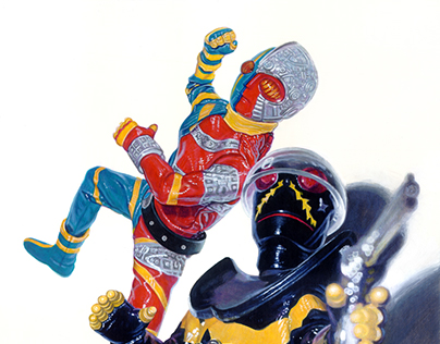 SUPERHERO Paintings 2