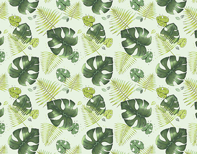 tropical pattern design
