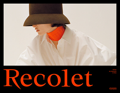 Recolet Concept Fashion Branding & Package & Webdesign