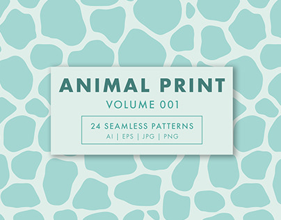 Animal Print Seamless Patterns Vol. 001
