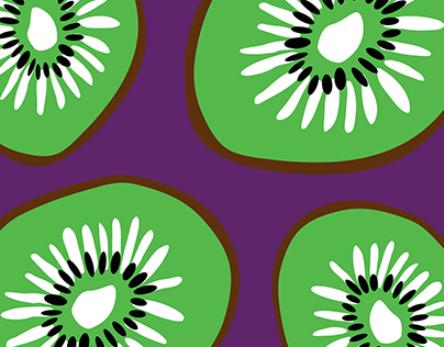 Big, Bold, Colourful Fruity Patterns