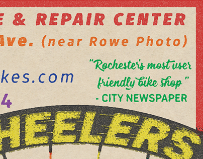 Freewheelers Retro Advertisement