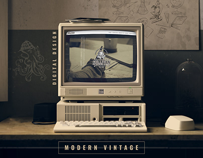 Modern Vintage Website Design Sullivan Research