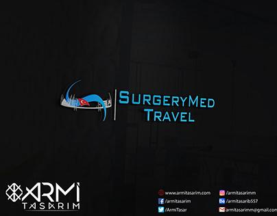 SurgeryMed Travel İçin Tasarladığımız Logo Tasarımı
