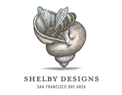 Shelby Designs Logo Illustrated by Steven Noble