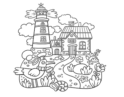Coloring Pages for Easy Creation