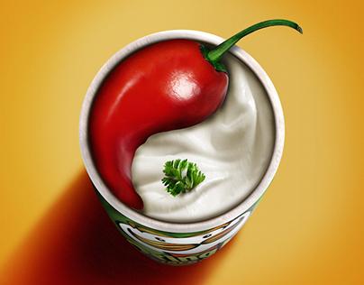 Pringles Chili & Sour Cream