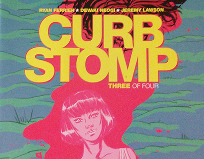 CURB STOMP comic issue #3 by BOOM!studios.