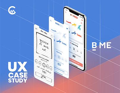 B ME - UX Case Study