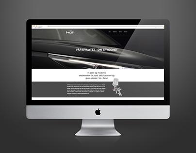 KAR Skadesenter Webdesign