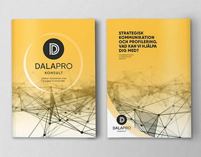 Dalapro Konsult, portfolio brochure