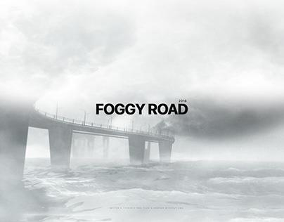 FOGGY ROAD   Atmosphere work