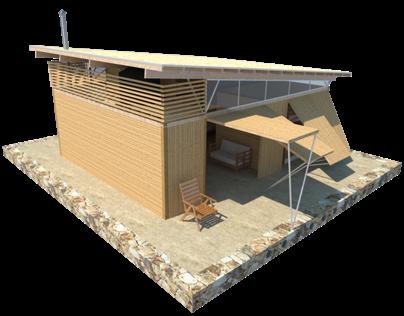 Concurso casa de madera