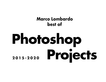 Best of photoshop projects whit brakedown