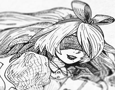 Alice x Nier Wonderland