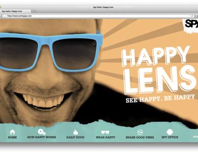 Spy Optic Happy Lens Campaign