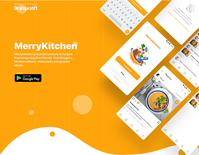 Merrykitchen - social network of recipes - Android