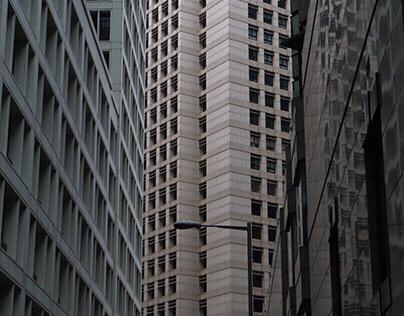 LOOK UP, HONG KONG. // Photography