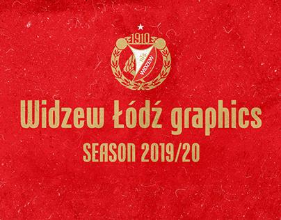 Widzew Łódź graphics 2019/20
