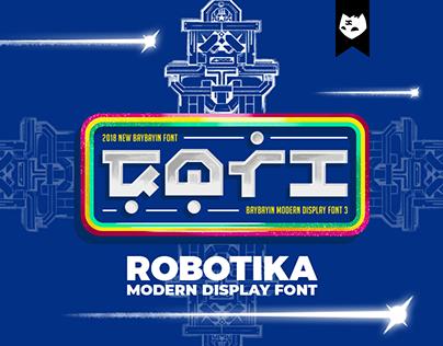 BAYBAYIN ROBOTIKA Free Font