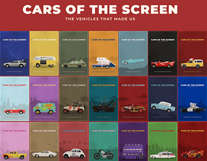 CARS OF THE SCREEN: The Vehicles That Made Us