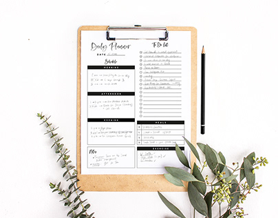 Printable Planners for online shops & bloggers