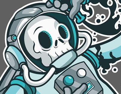 spaceman & moon slime