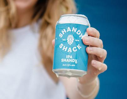 Shandy Shack // Brand Identity // Packaging Design