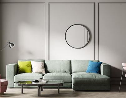 """Sofa the """"Conte"""""""