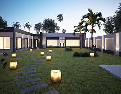 Modern Rest Villa Design