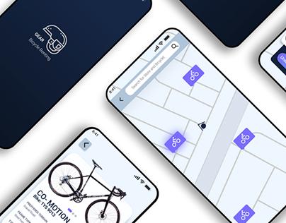 Gear | UI/UX Design | Cycle Renting App