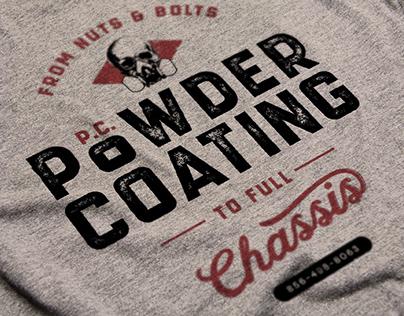 Logo Identity Design | P.C. Powder Coating