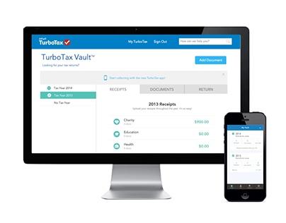TurboTax Vault Desktop & Mobile App