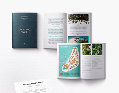 Constance Halaveli Maldives - Layouts & Illustrations