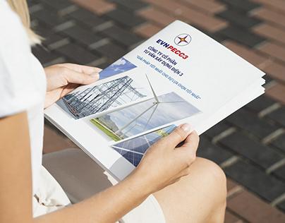 Thiết kế Brochure dịch vụ EVNPECC 3
