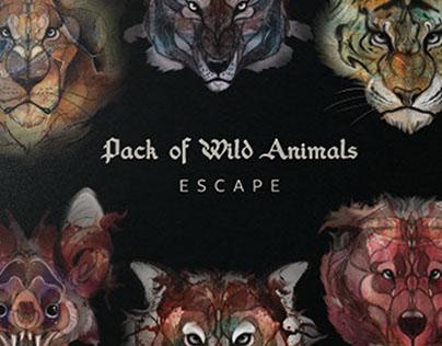 Pack of Wild Animals