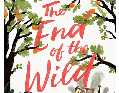 The End of the Wild, Book Cover Lettering