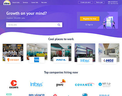 Shine.com | Homepage | Job Portal