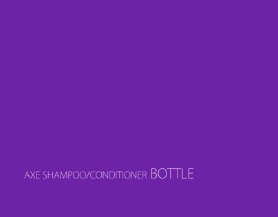 Axe Shampoo/Conditioner Bottle