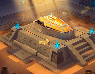 Sand tomb