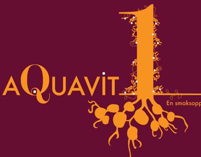 Aquavit 1 - Label design