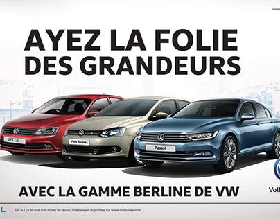 La gamme Berline de VW