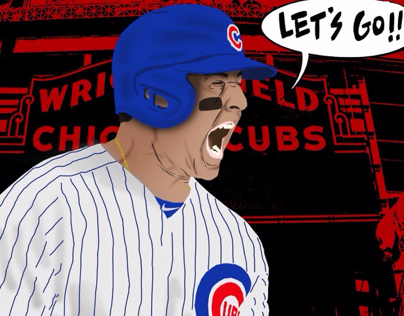 Anthony Rizzo Vector