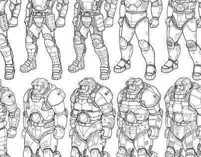 GearedMind Studio - More Concept Art