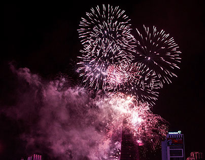 Sloka 67: Firework in Ho Chi Minh City
