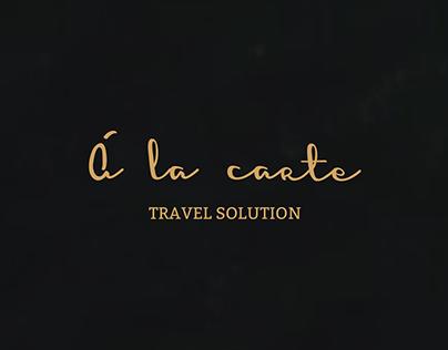 A La Carte Travel Solution